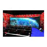 3d movie theater system , 4D 5D 6D 7D XD cinema theatre with windy / snow / rain simulator