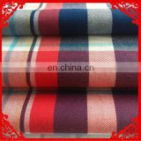 2014 fashion latest new Italy design pattern 100%cotton red madras check fabric