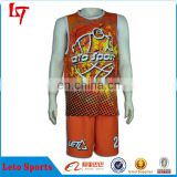 Latest popular sublimation european basketball jersey/ Plain basketball uniform wholesale