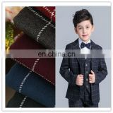 Shrink Resistant plaid fabric for school uniforms