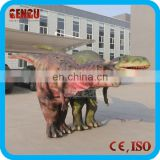 Amusement Park Custom High Simulation Artificial Dinosaur Costume