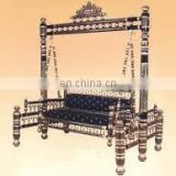 Muslim Wedding Decorated Swing Jhula/BeautifulWedding Golden Swing