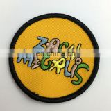 Brand clothes embroidery badges patch for jeans t-shirt military
