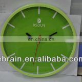 promotional plastic wall clock,newest design plastic wall clock