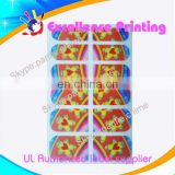 hot sale self adhesive populer 3d nail seal stickers