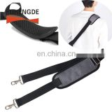 Universal Adjustable Bag Strap with Metal Swivel Hooks and Non-Slip Pad