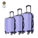 ABS Material fashion design hard shell travel luggage