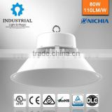 [GS-BL-80WK]round aquarium luminaire highbay led 100lm/w pure white high lumen warehouse high bay housing led