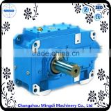 H/B Series Helical-bevel Gear box Transmission Parts With Engine Motors for brush cutter