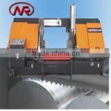 Hydraulic Horizontal metal cut band saw machine /horizontal cut high speed tool steel machine