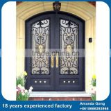 Cost-Effective Wrought Iron Double Door Grills Arch                                                                         Quality Choice
