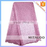 Mitaloo MFL0109 African Fabrics Lace Net Embroidery Fabric Design For Women Lace Party Dresses