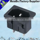 Flat abs 1 pole adapter traveling electrical outlets floor box