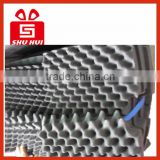 Chinese wholesale sound insulation pad, acoustic foam panels, high density wave studio foam