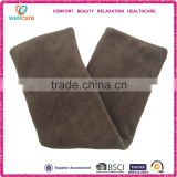 Brown coral fleece wheat heat cold pack made in china