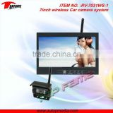 RV-7031WS-1 wireless car rearview system, car reversing system with digital screen & CCD camera