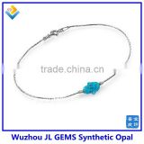 2014 new hottest selling necklace and bracelet pendant stone price opal hamsa bracelet jewelry