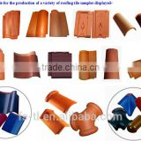 roofing tile extruding mould for wet forming tiles