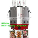Mini vertical barbecue grill machine, electric rotating grill machine,Mini BBQ grill machine