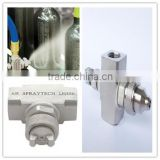 Pressure Flat Pattern air atomizer nozzle External mix
