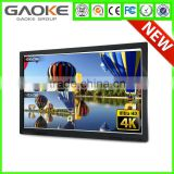 Built in Android OPS PC 6 to 10 Points User Writing Anti Glare 55 84 inch Smart TV Touch Monitor Interactive Touch Screen Panel
