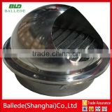 stainless steel outside wall air vent cap for HVAC system