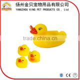 Funny design wholesale rubber duck toys waterproof baby bath toys