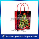 Direct manufacturer Christmas gift PE bag gift bag                                                                                                         Supplier's Choice