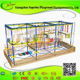 Wooden Playground Adults Indoor Obstacle Course 158-19A