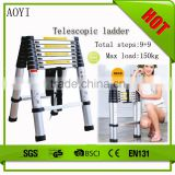 YK EN131 Hot selling high quality and low price folding telescopic extension ladder popular in japan
