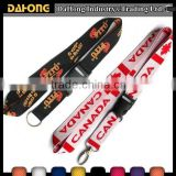 custom personalized neck printed sublimation polyester lanyard                                                                         Quality Choice
