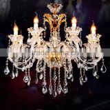 Modern Wedding Centerpieces Decoration Crystal Chandelier Art Glass Chandeliers Hanging Pendant Lamp Light Lighting CZ3006/8