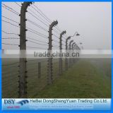 wholesale military galvanized barbed wire/high quality barbed wire roll price fence/electric double twist barbed wire fencing