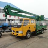 dongfeng 4x2 18m aerial bucket truck with basket