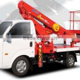 AERIAL PLATFORM KIA BONGO-3 1 ton Standard cab chassis and 4WD