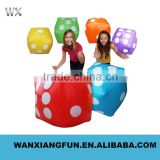 Newest style pvc inflatable dice