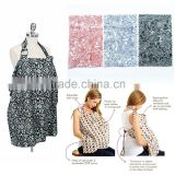 new arrival print 100% cotton baby nursing cover wholesale