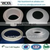 High Purity Clear Quartz Ring Sio2 Targets customer