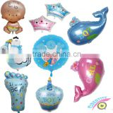 2016 Advertising baby shower foil balloon event party supply helium balloon