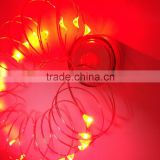 Christmas Party Garden light AA Battery Dimmable Led String Lights Copper Wire 20ft LED Starry LightCopper wire LED String light