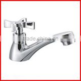 Bathroom basin wash hand cold water tap single handle mixer polished modern cheap sink faucet T8329