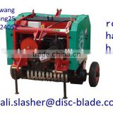mini round hay balers grass bale machine