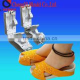 2014 High Quality PVC Airblowing Slipper Mould used on airblowing injection machine for making Fashion comfortable Slippers