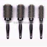 Boar bristle hair brush round hair brush