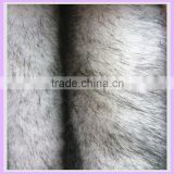 35mm hi pile 100% acrylic racoon garment fur animal print high density faux fur fabrics for rabbit fur coat china suppier
