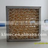 Evaporative wet curtain