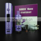 Pink, Purple & Black colors KangerTech Latest E-Cigarette Kanger Subox Nano starter kit with 3.0ml