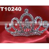 girls mini rhinestone tiara crown wholesale
