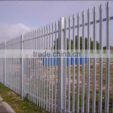 Fencing panels / Palisade fencing /Yard fence / Used galvanized steel fence / security fence