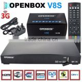 HD Digital Satellite Receiver arabic iptv receiver tv channels home smart openbox v8s hot sale in UK market V8S